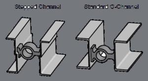 Stepped vs regular channel