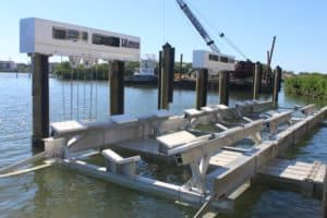 Vertical Lifts Gallery - image 60-ton-cradle-2-300x200 on http://iqboatlifts.com