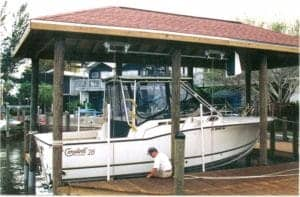 Boathouse Lifts - image BH1-300x197 on http://iqboatlifts.com