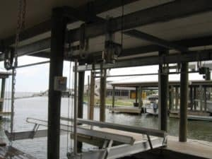Boathouse Lifts Gallery - image Boathouse-IMG_0770-300x225 on http://iqboatlifts.com