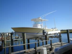 Vertical Lifts Gallery - image Intercoastal-VIIHS16-300x225 on http://iqboatlifts.com