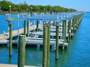 Vertical Lifts Gallery - image Marina-NC-300x225 on http://iqboatlifts.com