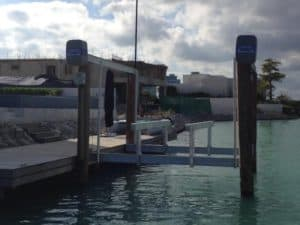 Vertical Lifts Gallery - image PP10-W-Pontoon-Risers-300x225 on http://iqboatlifts.com
