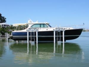 BOat Lifts made by IMM Quality boat lifts