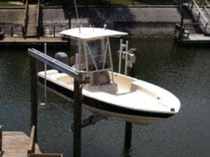 trident boat lift
