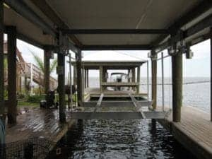 Boathouse Lifts Gallery - image boat-house-300x225 on http://iqboatlifts.com