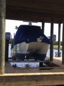 Boathouse Lifts Gallery - image boat-house-5-225x300 on http://iqboatlifts.com