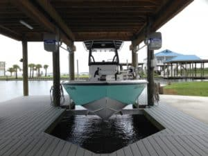 Boathouse Lifts Gallery - image boathouse-hanger-brackets-7-300x225 on http://iqboatlifts.com