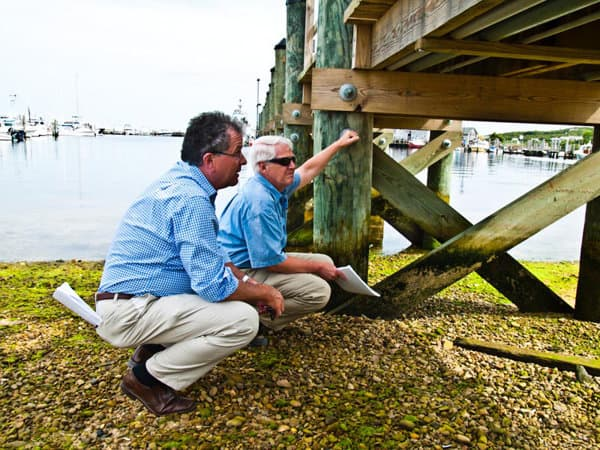How to Prepare your Boat and Dock for Hurricane Season - image Have-Your-Dock-Inspected on http://iqboatlifts.com