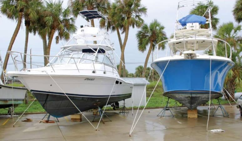 How to Prepare your Boat and Dock for Hurricane Season - image Make-Sure-Your-Boat-is-Stored-Properly on http://iqboatlifts.com