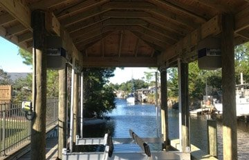 Boat Lifts St. Augustine, FL - image Boathouse-10 on http://iqboatlifts.com