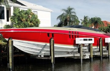 Cocoa Beach, FL - image Titan-Yacht-Lifts on http://iqboatlifts.com