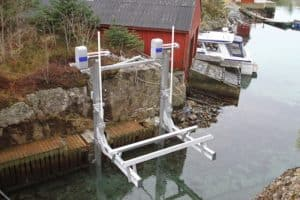 Weathering the storm: Preparing boat lifts for hurricanes, storm surge - image boat-lift-imm-300x200 on http://iqboatlifts.com