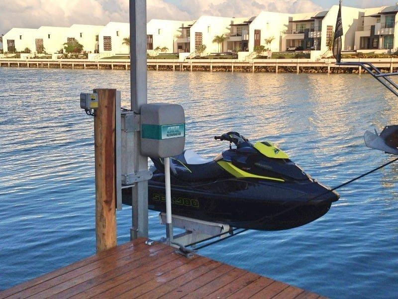 PWC Lifts | Personal Watercraft Lifts - image pwc-lift on http://iqboatlifts.com