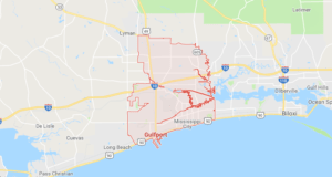 Google map of boat lifts in Gulfport MS
