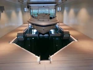 Vertical Lifts Gallery - image Floating-Boathouse-Norway-300x225 on http://iqboatlifts.com