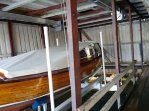 Boathouse Lifts Gallery - image Special-Cradle-to-a-Boat-from-1945-2-300x225 on http://iqboatlifts.com