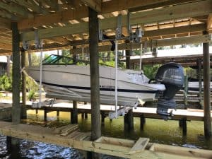 Boathouse Lifts Gallery - image 7K-Boathouse-Platinum-Regal-Lift-Solutions1-300x225 on http://iqboatlifts.com