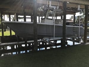Boathouse Lifts Gallery - image Boathouse-4-300x225 on http://iqboatlifts.com