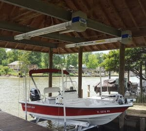 Boathouse Lifts Gallery - image Boathouse-Platinum-suspension-bracket-3-300x270 on http://iqboatlifts.com