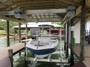 Boathouse Lifts Gallery - image Boathouse-suspension-bracket-300x225 on http://iqboatlifts.com