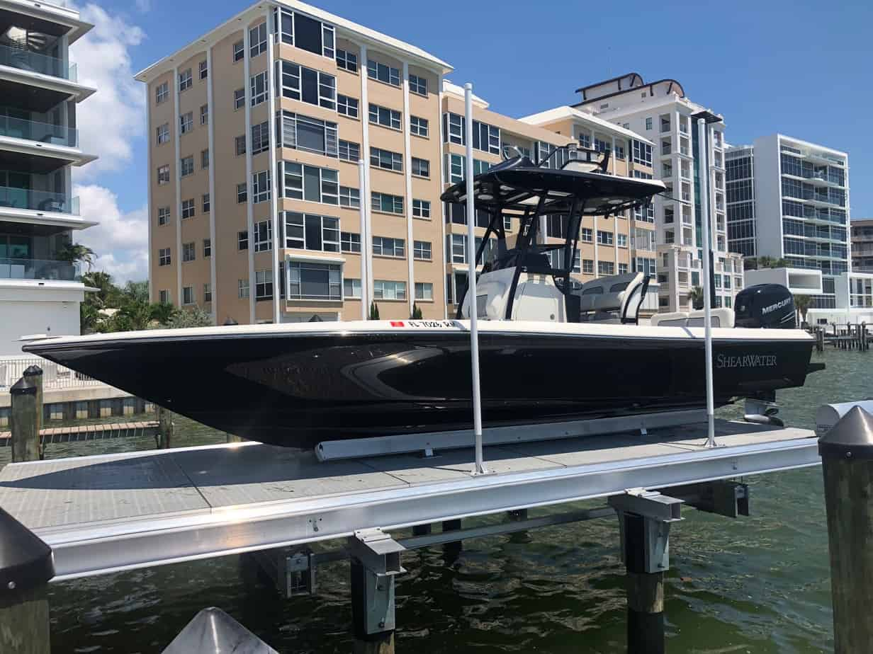 10 Reasons to Buy a Boat Lift - image Decked-6 on http://iqboatlifts.com