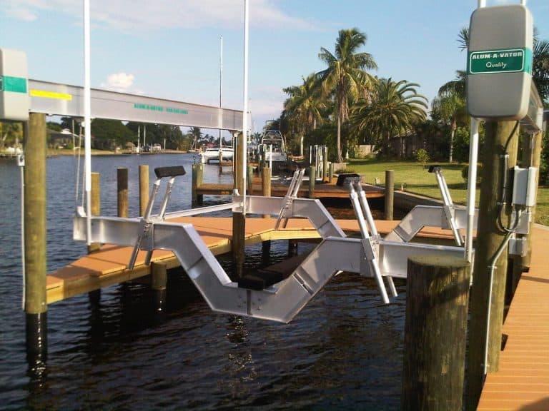 Sailboat Custom Boat Lift Bunk