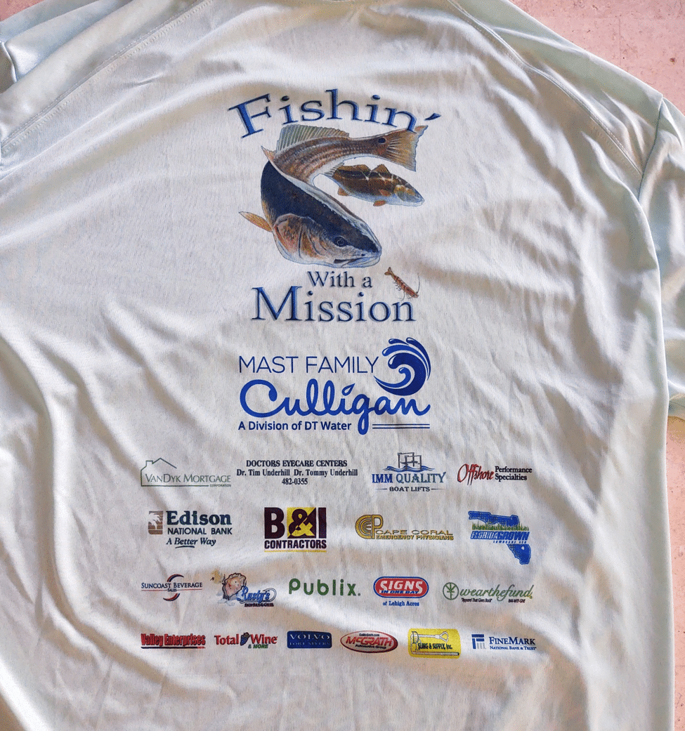 Fishin With A Mission Tee Shirt