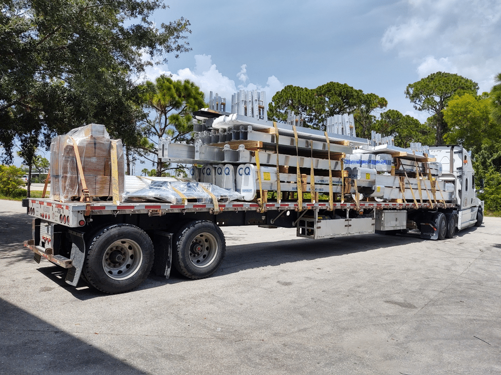 Truck Load Of Imm Quality Boat Lifts
