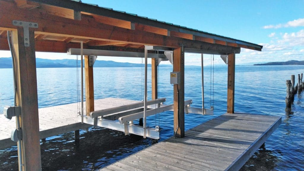 boathouse lift structural solutions