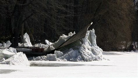 What Happens When Your Boat Lift Or Dock Is Not Ready For Winter