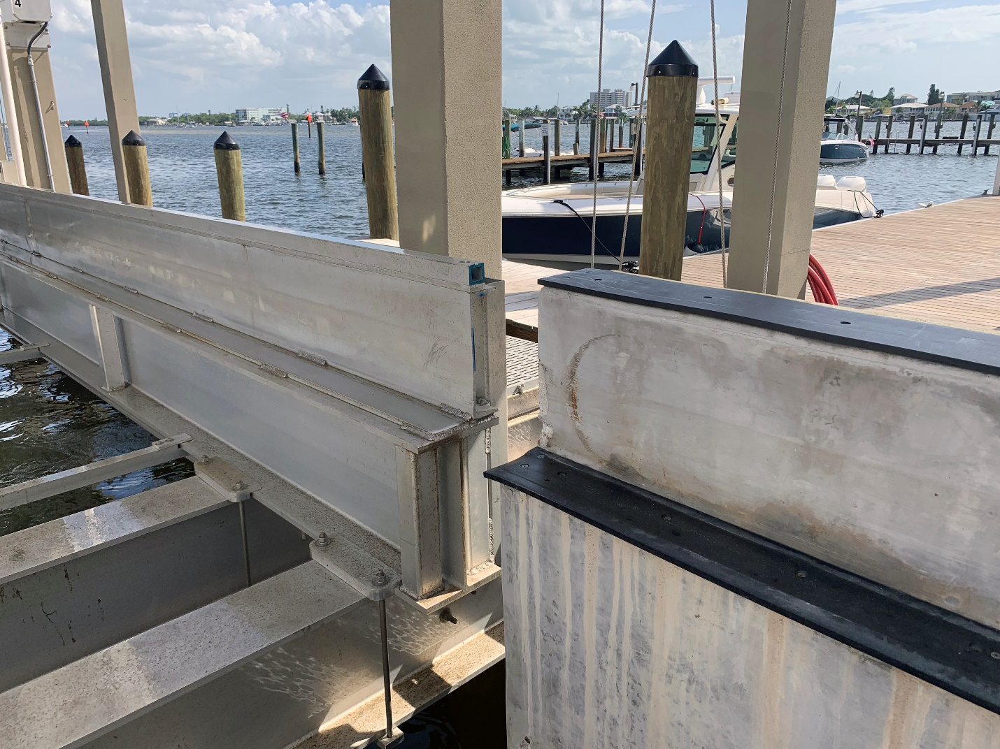 Superlift Cradles On Imm Quality Boat Lift
