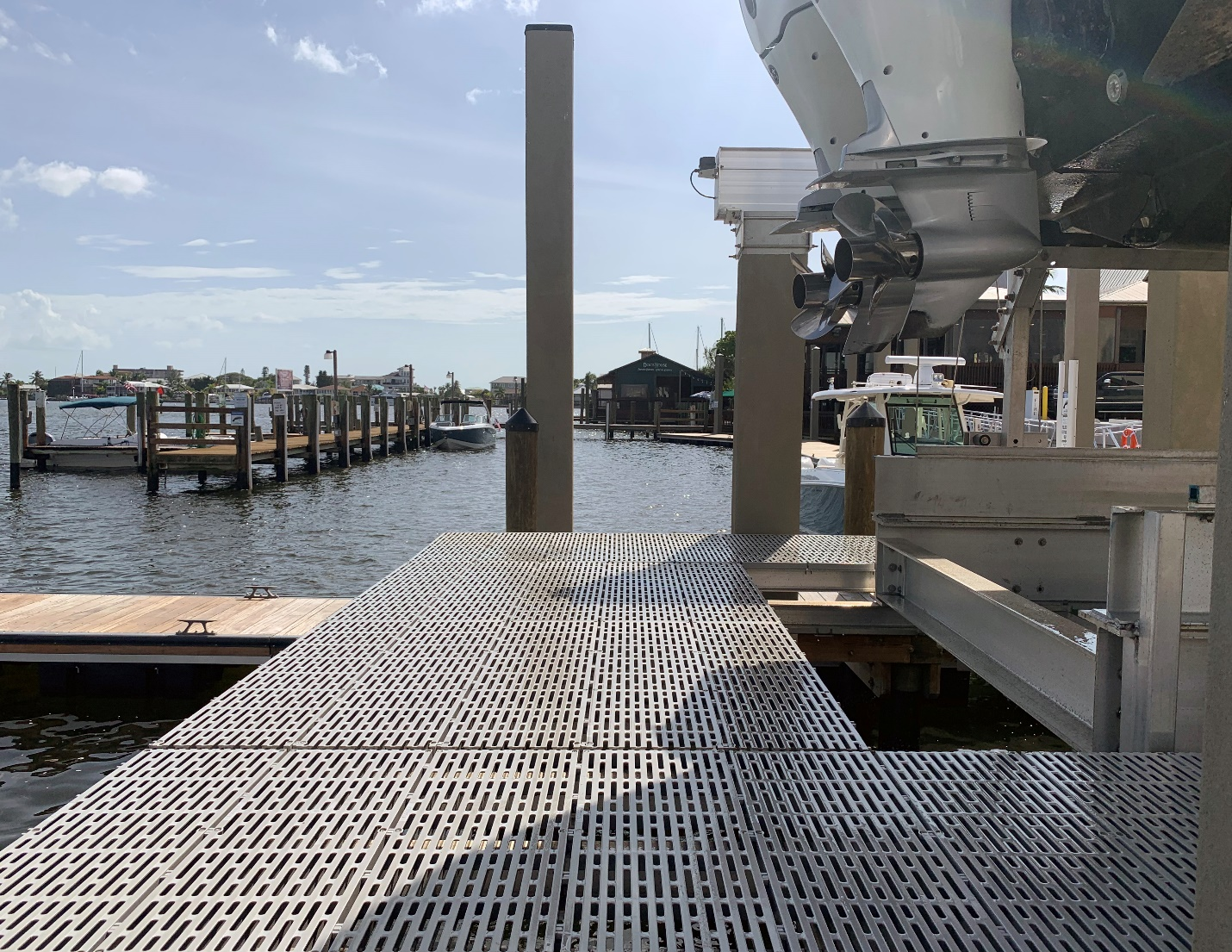 Walk Way Access IMM Quality Boat Lifts