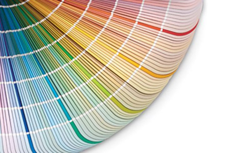 imm powder coating color swatches
